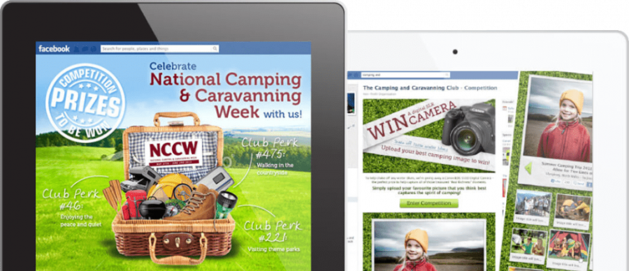 Marketing campaigns and landing pages